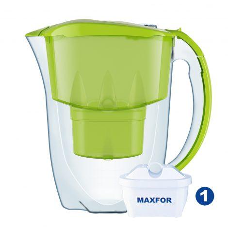 cana-filtrare-aquaphor-jasper-28-l-verde-cu-capac-flip-top-si-contor-mecanic