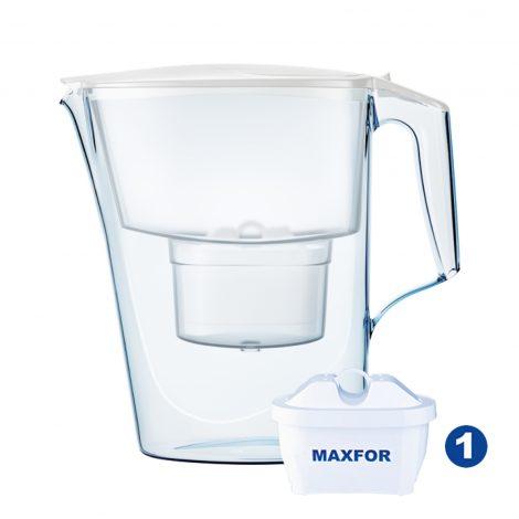 cana-filtrare-aquaphor-time-28-l-alb-cu-capac-flip-top-si-contor-mecanic