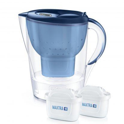Cana filtranta BRITA Marella XL 3,5 L + 2 filtre Maxtra+ (blue)