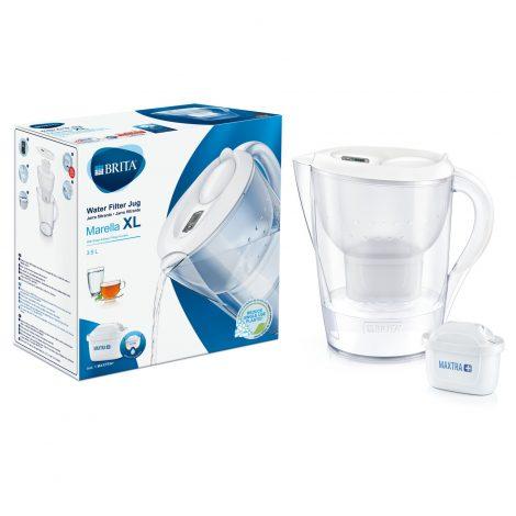Cana filtranta BRITA Marella XL 3,5 L Maxtra+ (white)