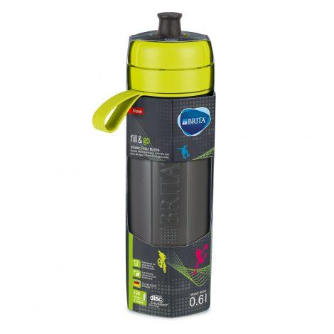 Sticla filtranta BRITA FillsiGo Active 600 ml (green)