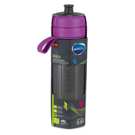 Sticla filtranta BRITA FillsiGo Active 600 ml (purple)