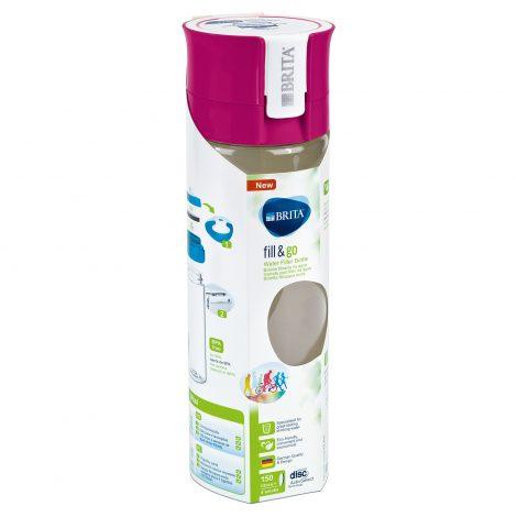 Sticla filtranta BRITA FillsiGo Vital 600 ml (pink)