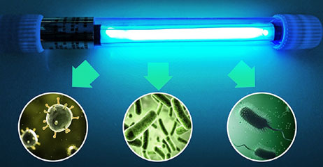 sterilizator UV, filtrare apa UV, sterilizare apa